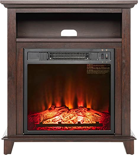Akdy Electric Fireplace Heater Free Standing Black W Remote Control 20a1 Amazon Ca Home Kitchen