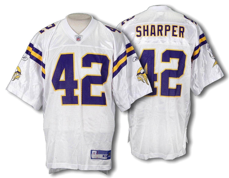 ... Amazon.com Minnesota Vikings Mens NFL Football Jersey Darren Sharper 42  White Sports Fan Football Reebok New Orleans Saints ... 36a5f86e1