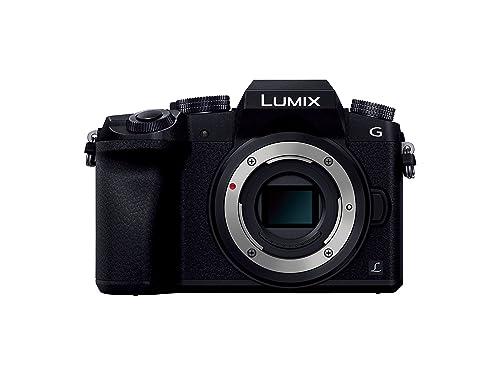 Panasonicミラーレス一眼カメラルミックスG7ボディ1600万画素ブラックDMC-G7-K