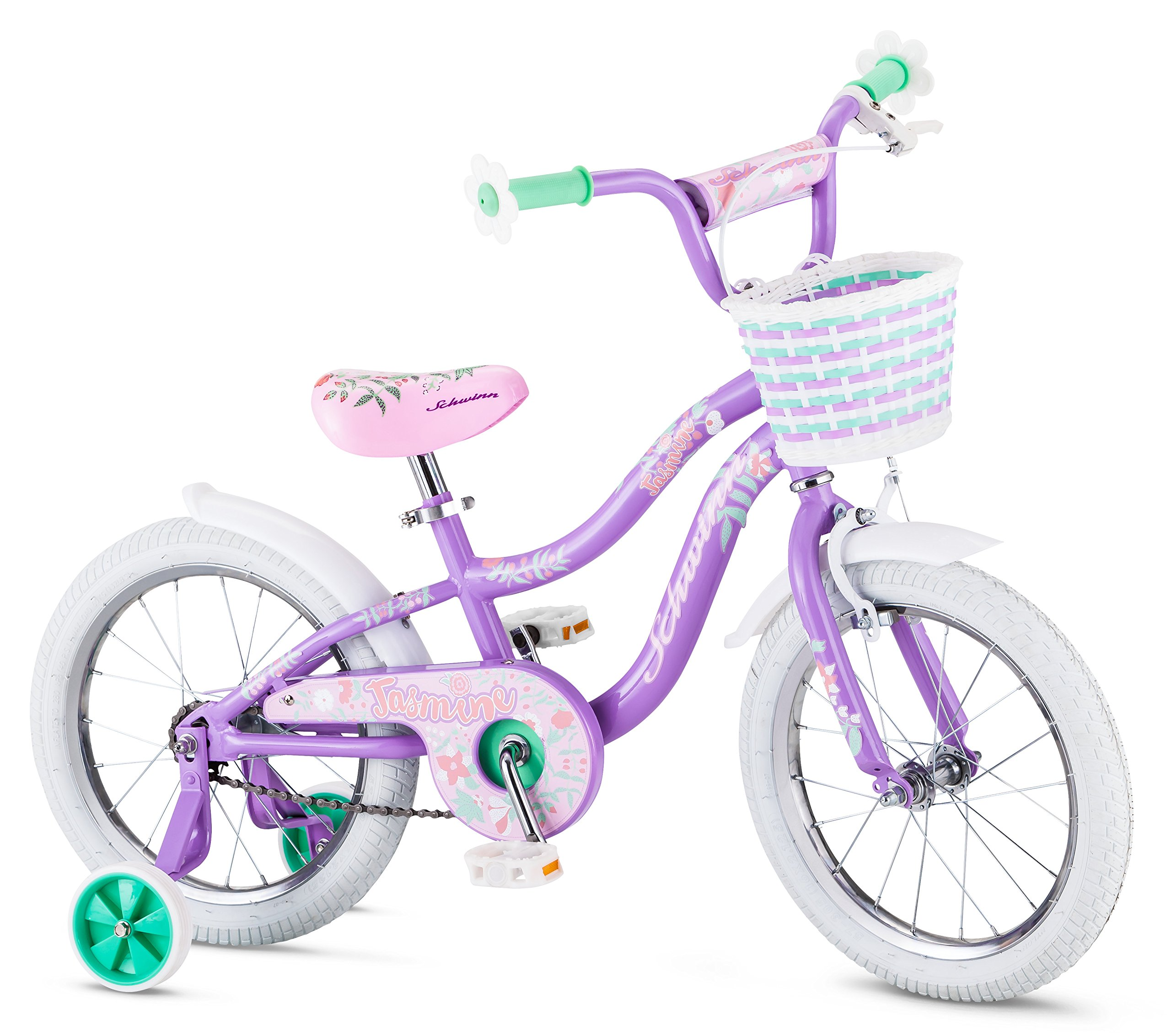 Schwinn Girl's Jasmine Bicycle, 16'', Purple by Schwinn (Image #1)