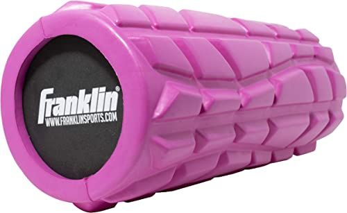Franklin Sports Foam Roller Fitness Recovery Training Flexibility Pliability 13 Roller Muscle Massager Solid Core Roller