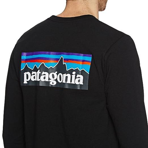 d893f1148515 Patagonia Herren L S P-6 Logo Responsibili Hemd  Amazon.de  Sport   Freizeit