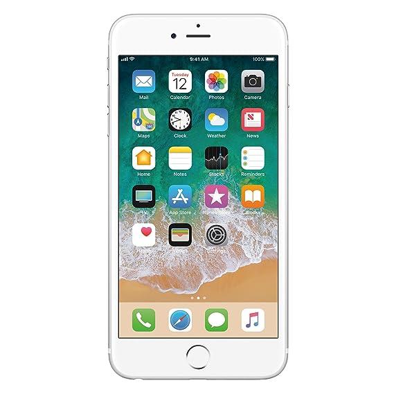 0b5a8e08198 Apple iPhone 6 Plata 16 GB (Renewed): Amazon.com.mx: Electrónicos
