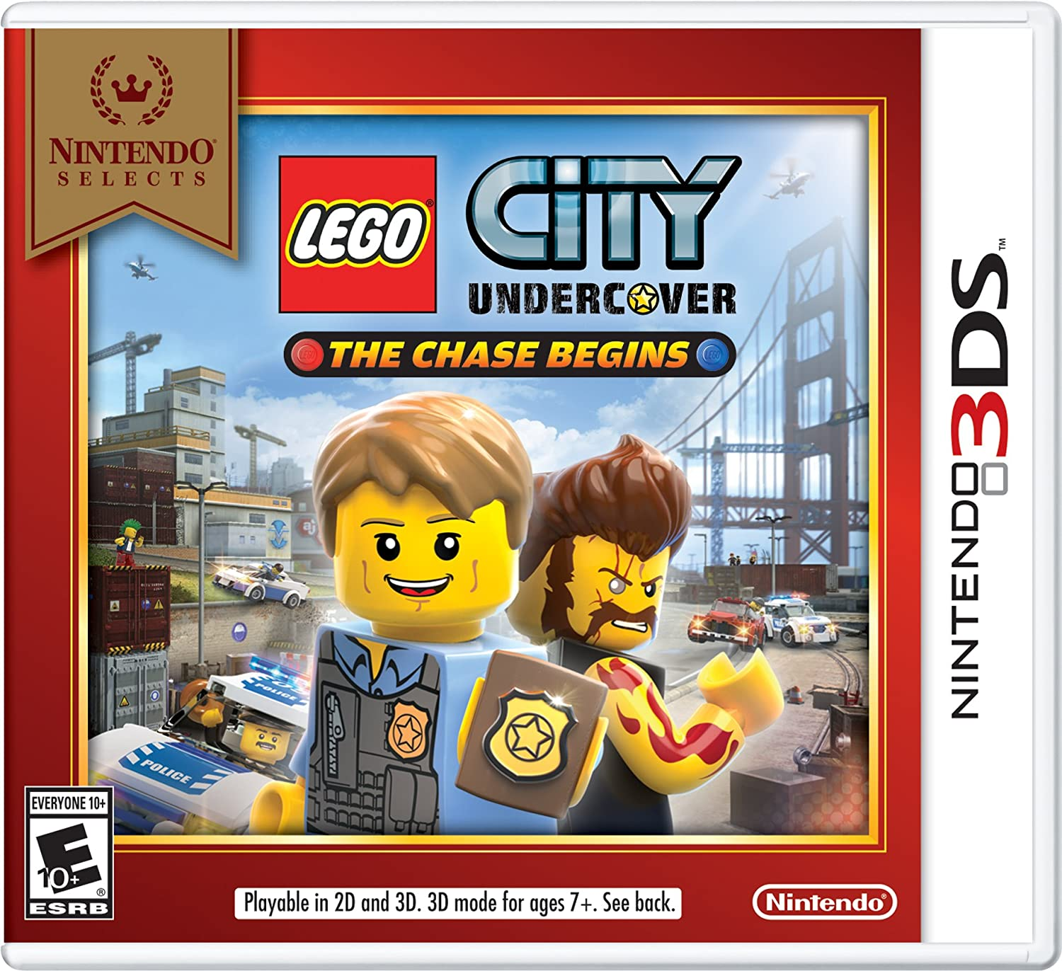 Amazon Com Nintendo Selects Lego City Undercover The Chase Begins 3ds Digital Code Video Games