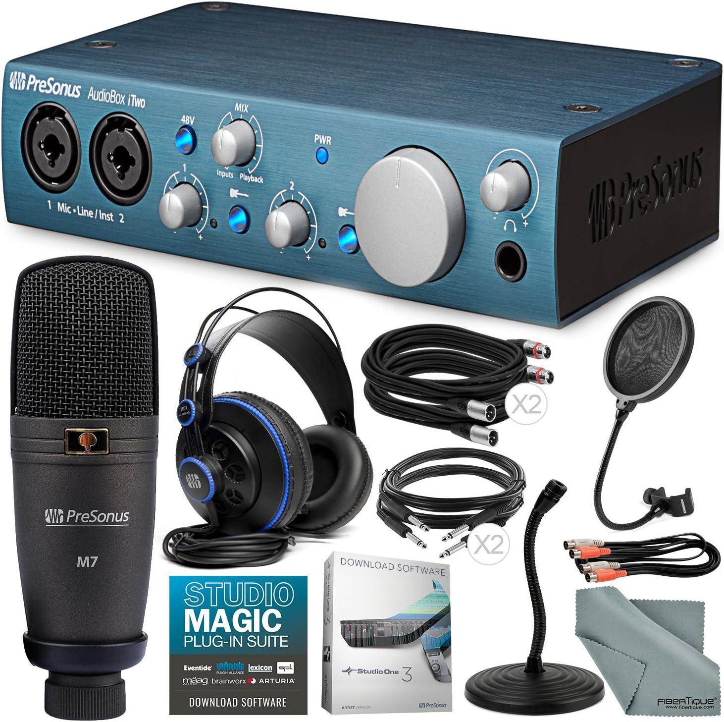 Musical Instruments Audio Interfaces ghdonat.com Cables PreSonus ...