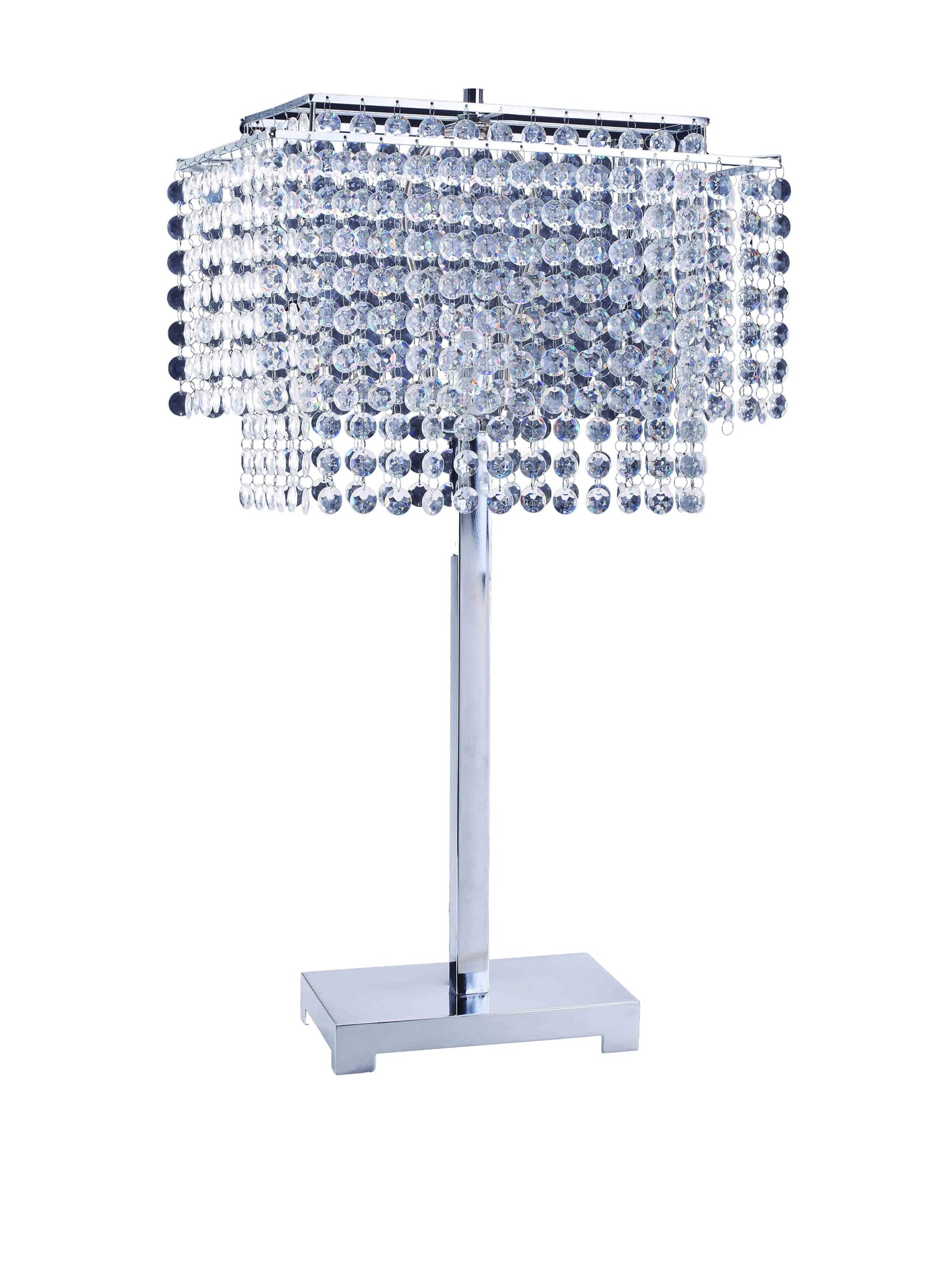 ORE International 732 28-Inch Crystal Strings Table Lamp by ORE (Image #1)
