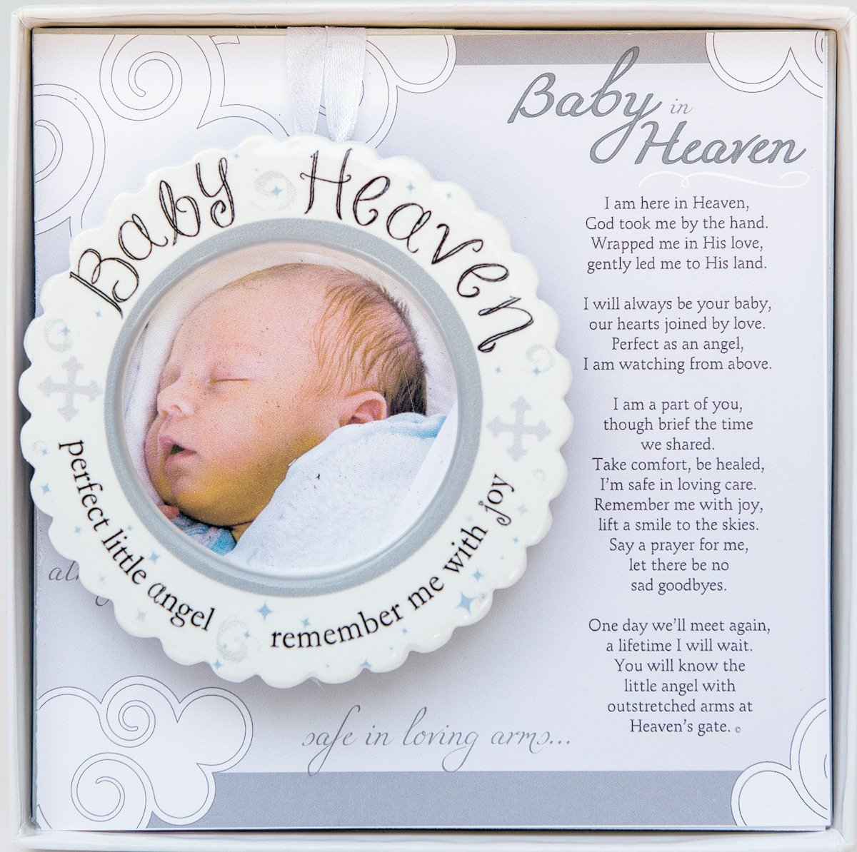 The Grandparent Gift Baby Heaven Miscarriage/Infant Loss Memorial Ornament 3400