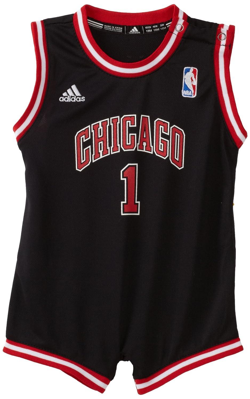 c05938cccb1 Amazon.com  NBA Infant Chicago Bulls Derrick Rose Onesie Alternate Jersey -  R22Uubb5 (Black