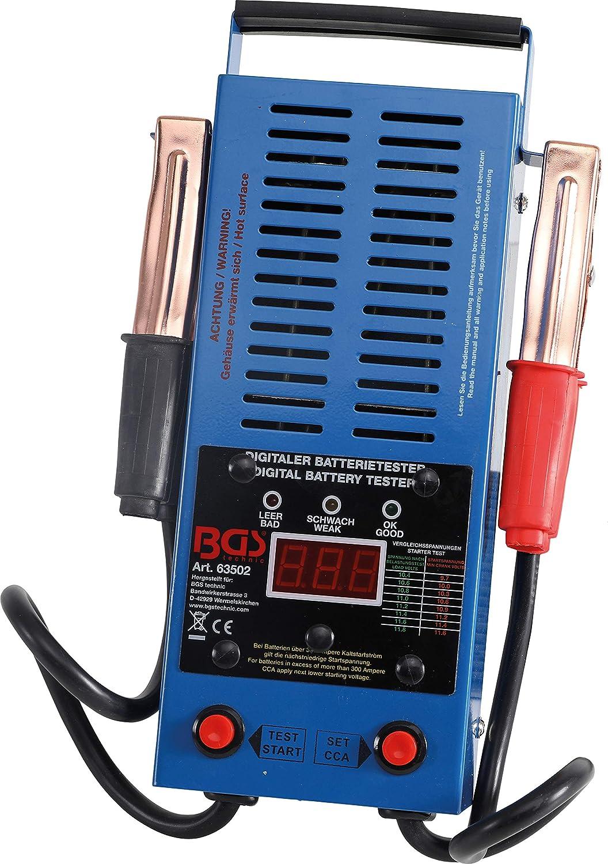 Batterietestgerät für 12 Volt Autobatterien  BGS Auto Batterie Tester digital