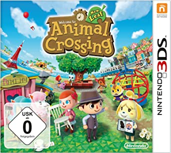 Animal Crossing New Leaf Nintendo 3ds Amazon De Games