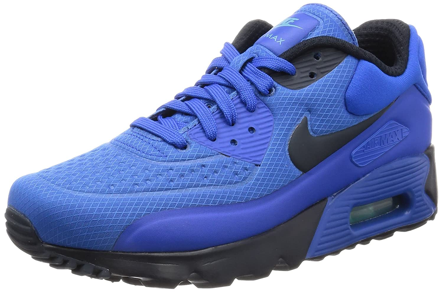 090d948f1d254 Nike Air Max 90 Ultra SE Men Lifestyle Casual Sneakers New Hyper Cobalt - 10