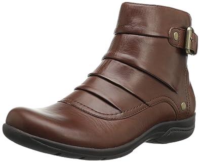 Clarks Women's Christine Club Boot,Brick Leather,5 ...