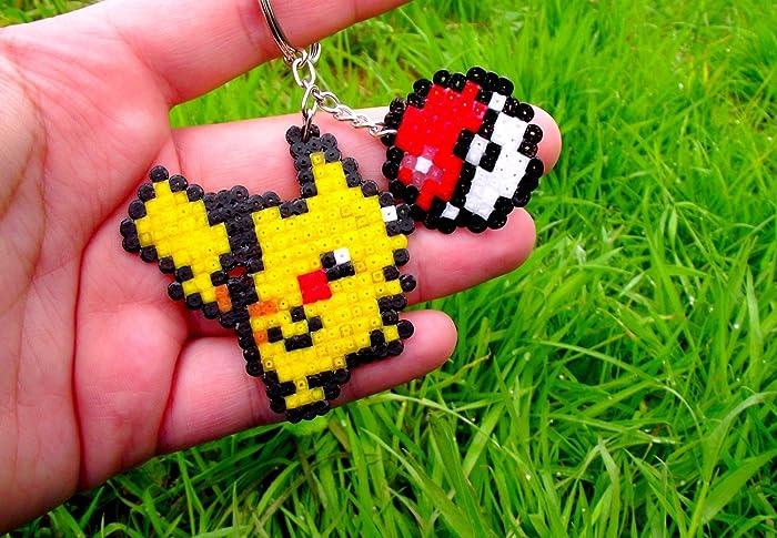 Keychain Pikachu - Pokémon - Nintendo / Game Freaks • Hama