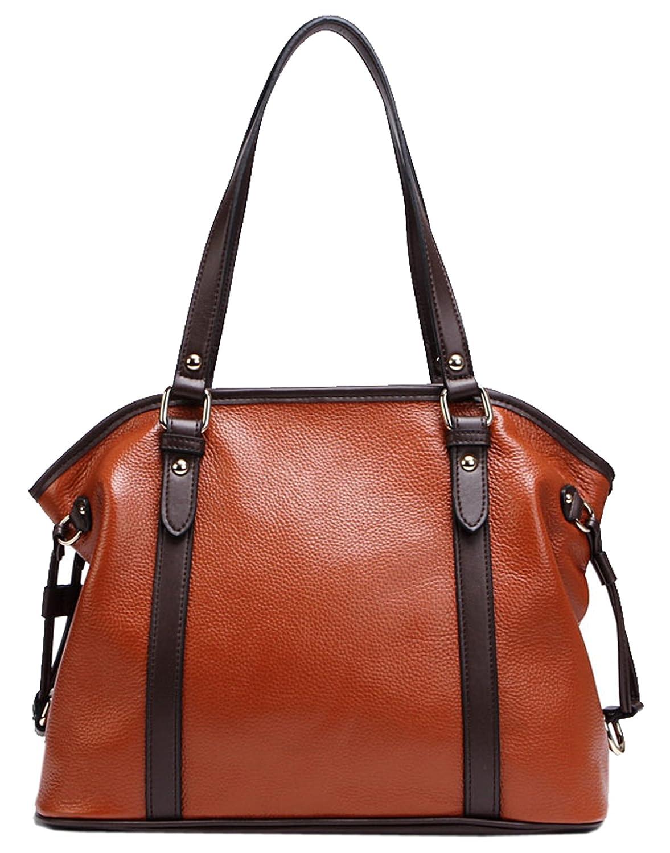 SAIERLONG Ladies Designer Womens Genuine Leather Handbags Shoulder Bags