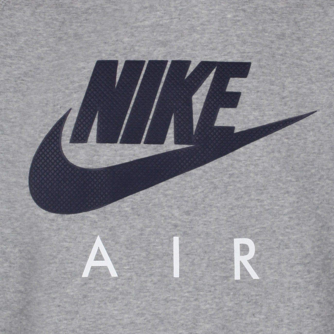 /Mens Sweatshirt Nike AW77/FLC Crew-Air Heritag/