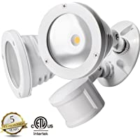 Topele 24-watt 2-Head Motion Sensor Light