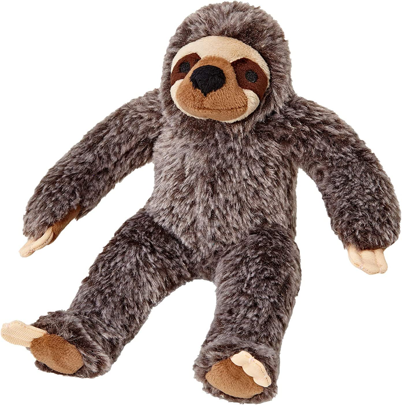 15-Inches Large Fluff and Tuff Tico Sloth Plush Dog Toy