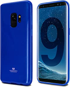 Goospery Pearl Jelly for Samsung Galaxy S9 Case (2018) Slim Thin Rubber Case (Navy Blue) S9-JEL-NVY