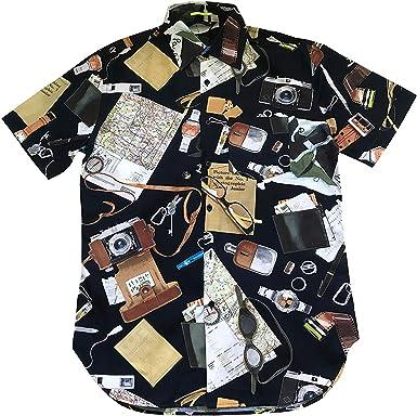 Paul Smith Varios Estilo Camisas - Azul Marino Multi Forma, M: Amazon.es: Ropa y accesorios