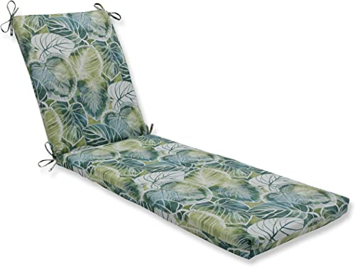 Pillow Perfect Outdoor Indoor Key Cove Lagoon Chaise Lounge Cushion 80x23x3