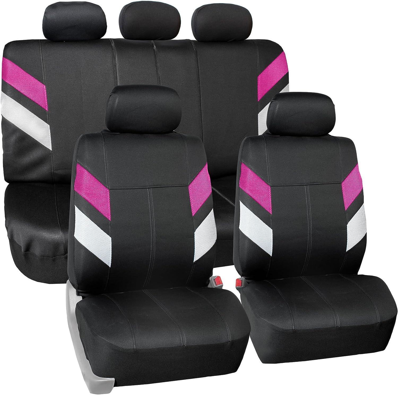 Semi-Universal Modern Edge FH Group FB086115YELLOW Yellow Neoprene Seat Cover