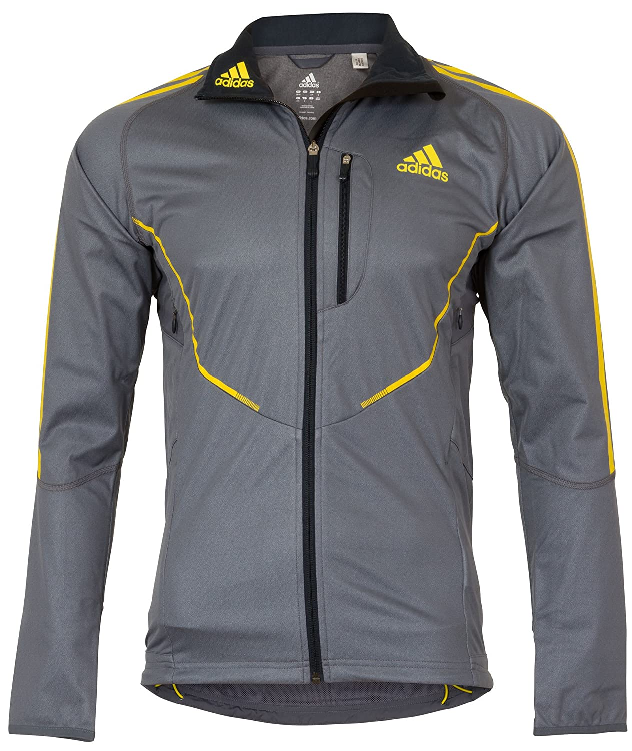 adidas Athletics ClimaWarm Windstopper Mens Cross Country Jacket