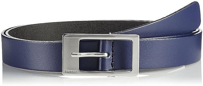 ESPRIT Accessoires Damen Gürtel 993EA1S900, Blau (Navy 415), 90 9b300c3f79