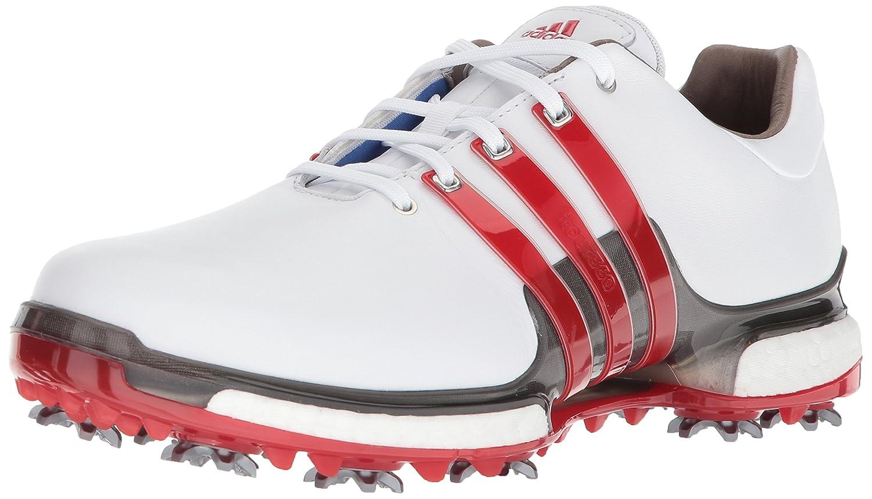 adidas Golf メンズ TOUR360 Boost 2.0 B0723CGK92 8 D(M) US|Ftwr White/Scarlet/Dark Silver Metallics Ftwr White/Scarlet/Dark Silver Metallics 8 D(M) US
