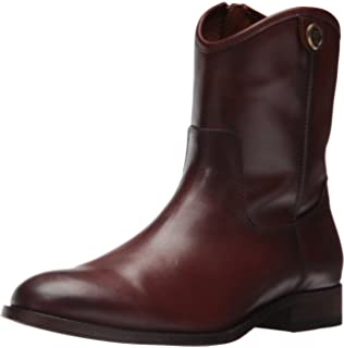 08a32d7b2a6 Amazon.com: FRYE Women's Cara Short Leather Boot Cognac: Shoes