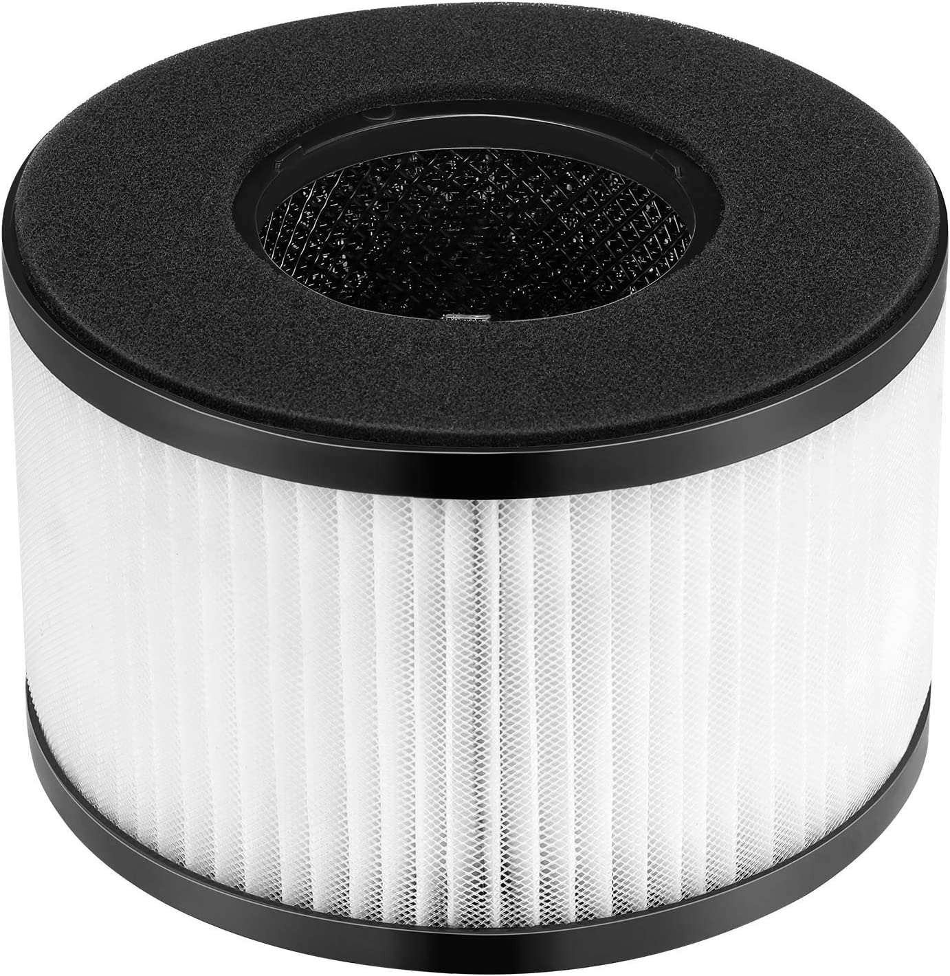 isinlive BS-03 HEPA Replacement Filter for BS-03 PARTU HEPA Air Purifier with 3-in-1 Filtration System, 1 Pack: Home & Kitchen