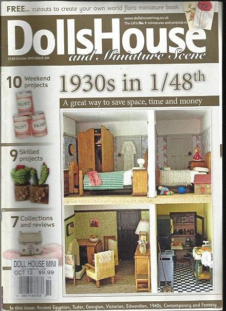 Amazoncom Dolls House And Miniature Scene October 2013 Issue 232