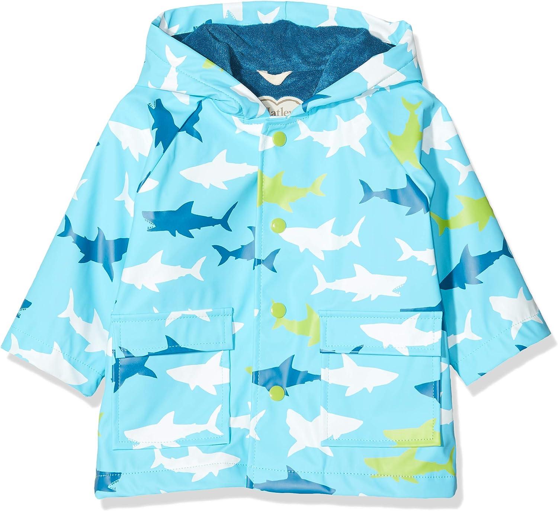 Hatley Baby-Jungen Printed Raincoats Regenmantel