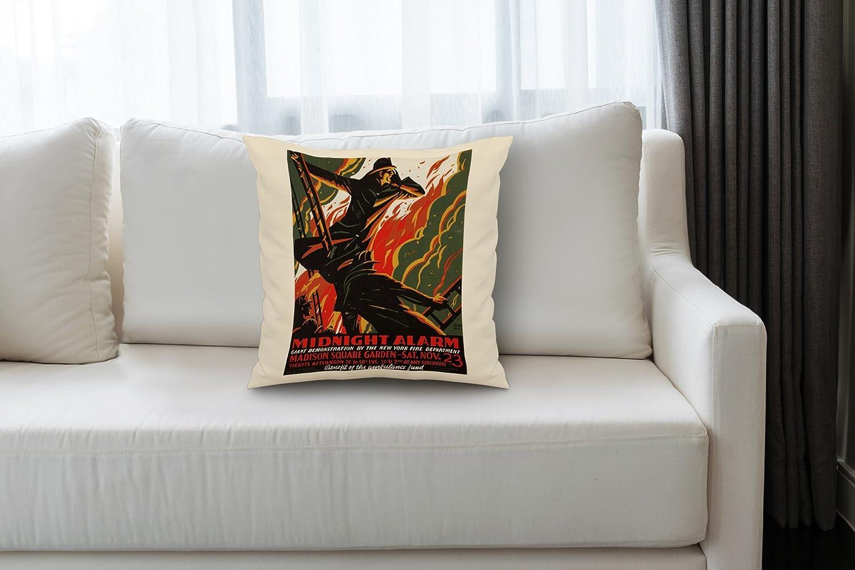 Amazon.com: Midnight Alarma clásico Cartel (Artista: colas ...