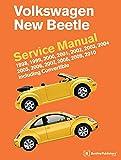 Volkswagen New Beetle Service Manual: 1998, 1999, 2000, 2001, 2002, 2003, 2004, 2005, 2006, 2007, 2008, 2009, 2010: Including Convertible