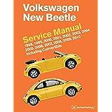 Volkswagen New Beetle Service Manual: 1998, 1999, 2000, 2001, 2002, 2003, 2004, 2005, 2006, 2007, 2008, 2009, 2010: Including