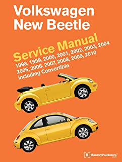 Volkswagen New Beetle Service Manual: 1998, 1999, 2000, 2001, 2002,
