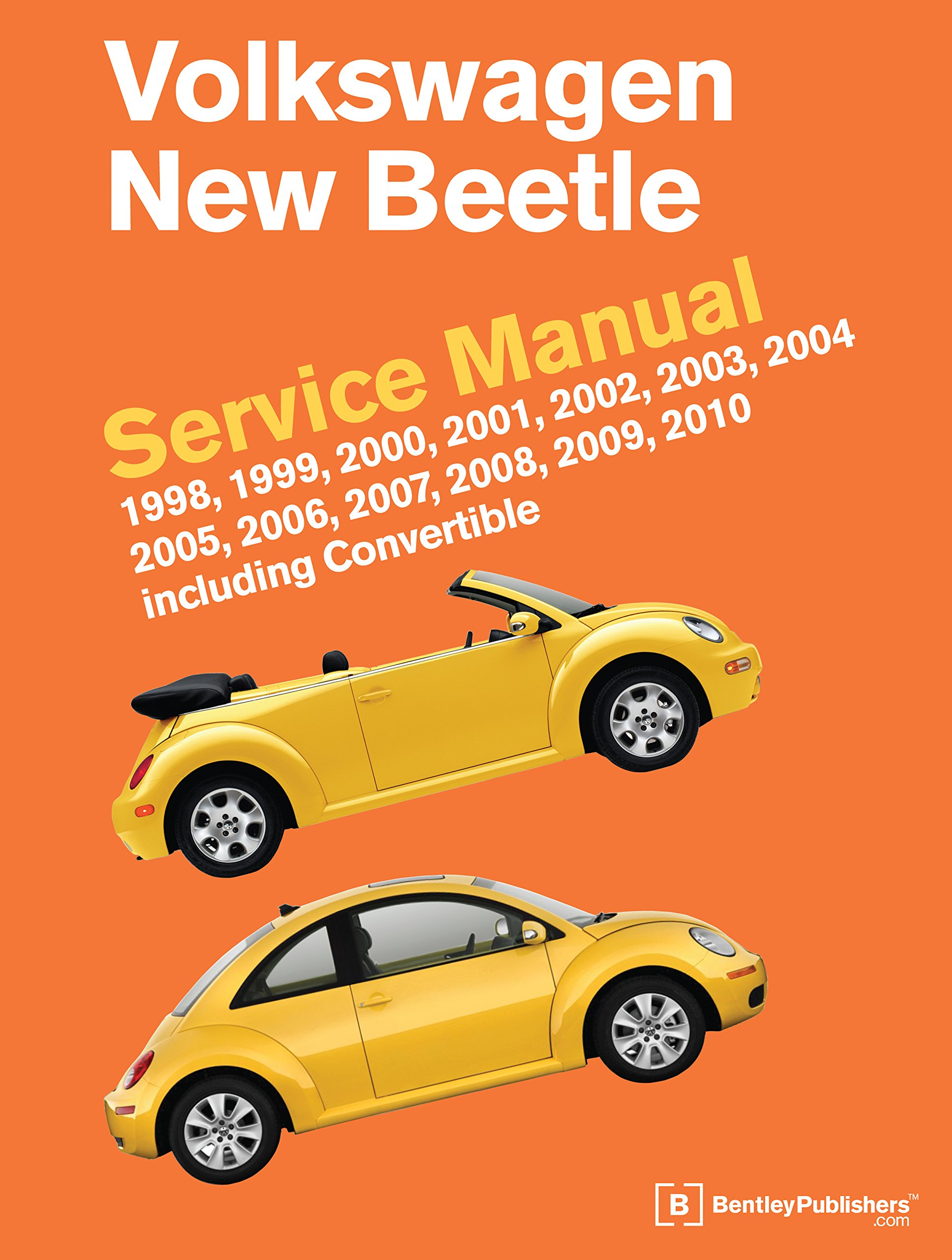 Volkswagen New Beetle Service Manual: 1998, 1999, 2000, 2001, 2002, 2003,  2004, 2005, 2006, 2007, 2008, 2009, 2010: Including Convertible:  Amazon.co.uk: ...