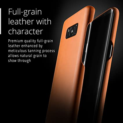 Mujjo Leather Case Plus For Samsung Galaxy S8 Computers Accessories