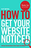 How To Get Your Website Noticed (How To: Academy, Band 3)