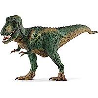 Schleich 14587 Tyrannosaurus Rex Toy Figure,Green