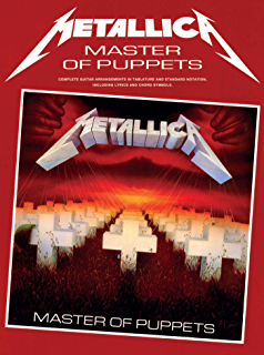 Amazon metallica ride the lightning songbook for drums metallica master of puppets guitar tab fandeluxe Images