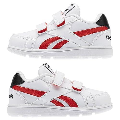 298b8e57df772 Reebok - Royal Prime Alt - AR0811 - Color  Blanco-Rojo - Size  26.5  Amazon. es  Zapatos y complementos