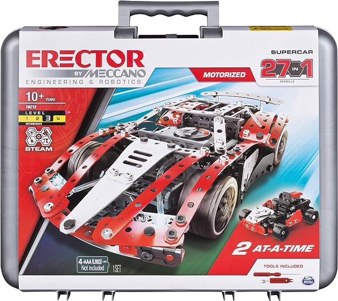 Erector by Meccano Chevrolet Corvette Model Building Kit