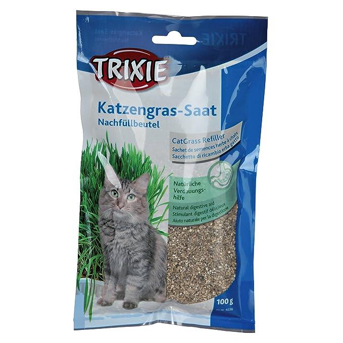 Trixie - Hierba para gatos (100 g/Multicolor)