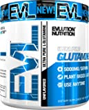 Evlution Nutrition Glutamine 5000 5 Grams of Pure Glutamine in Each Serving Unflavored Powder 60 Servings