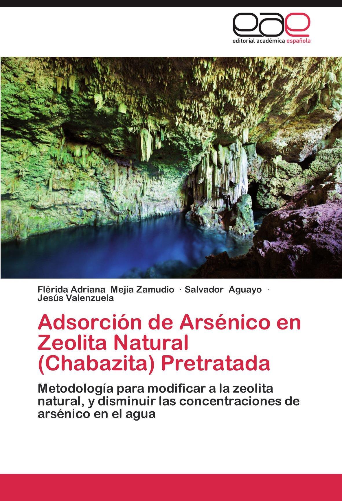 Adsorcion de Arsenico En Zeolita Natural Chabazita Pretratada: Amazon.es: Fl Rida Adriana Mej a. Zamudio, Salvador Aguayo, Jes?s Valenzuela: Libros