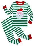 Amazon Price History for:Family Feeling Little Boys Girls' Stripe Christmas Pjs Cotton Pajama Sets