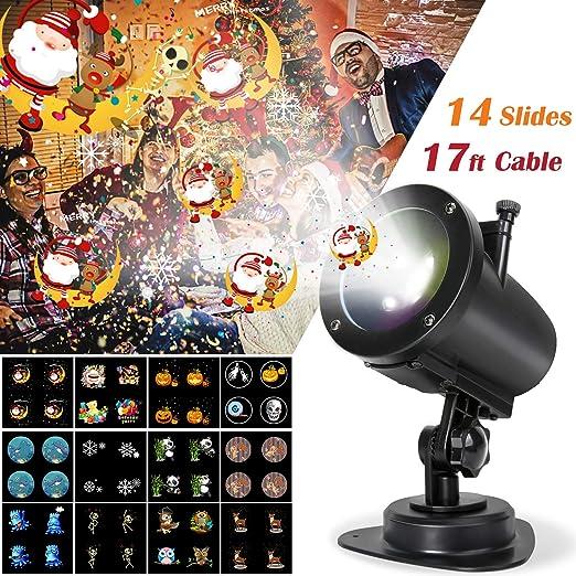 Amazon.com: Proyector de luz LED, luces de onda de agua de ...