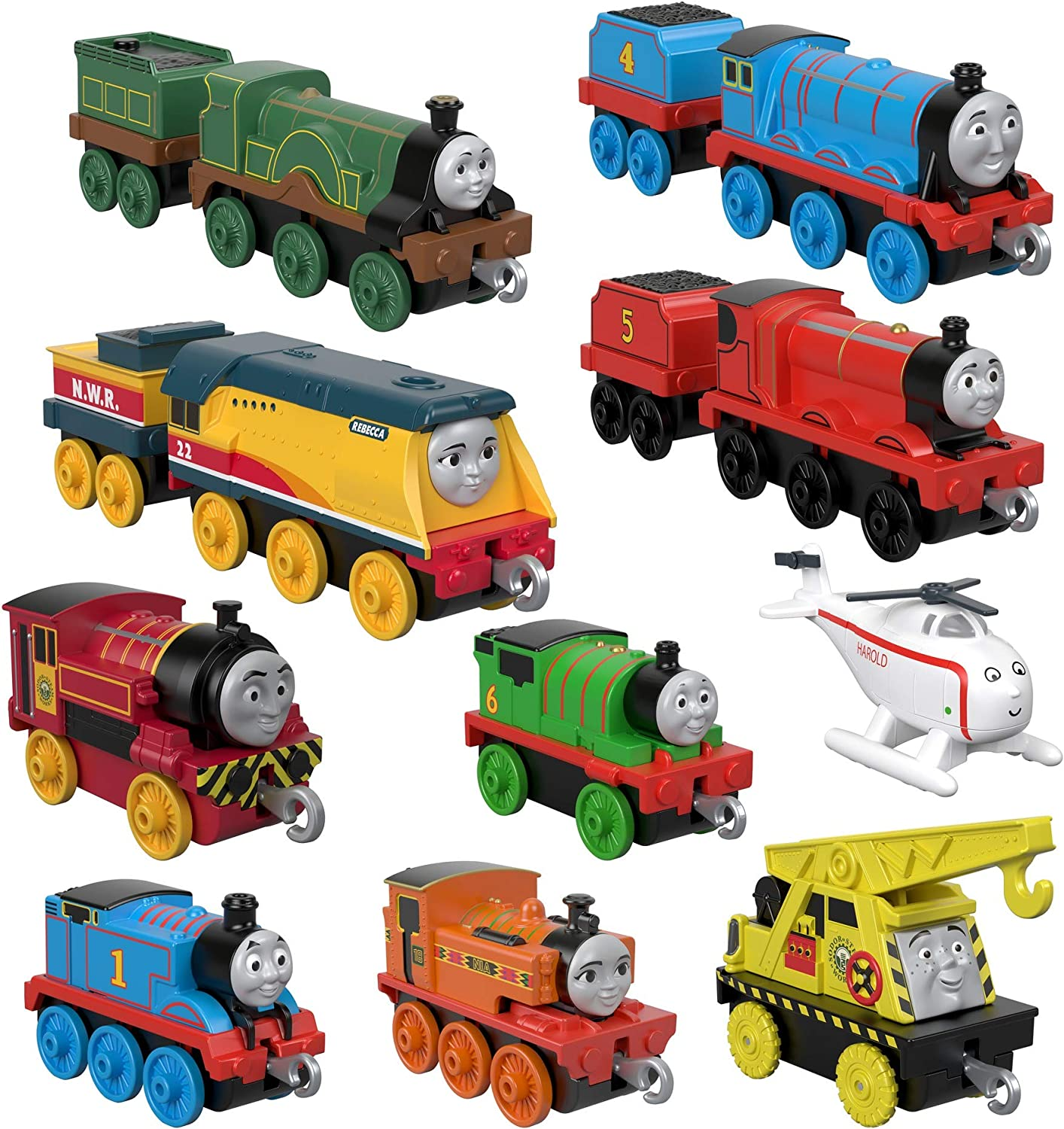 Fisher-Price Thomas & Friends TrackMaster, Sodor Steamies