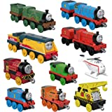 Thomas & Friends Adventures Fisher-Price Trackmaster Sodor Steamies 10-Pieces Set, Multicolor (GFF07)
